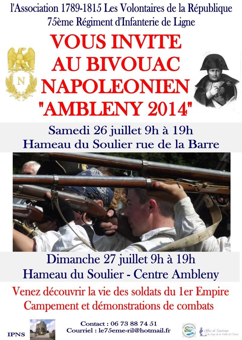 """Ambleny 2014 - La Campagne de France"" Affich10"