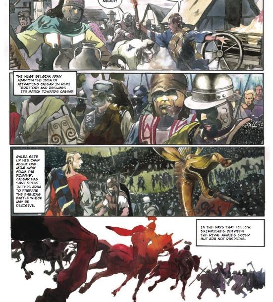 La Guerre des Gaules en BD Clichy10