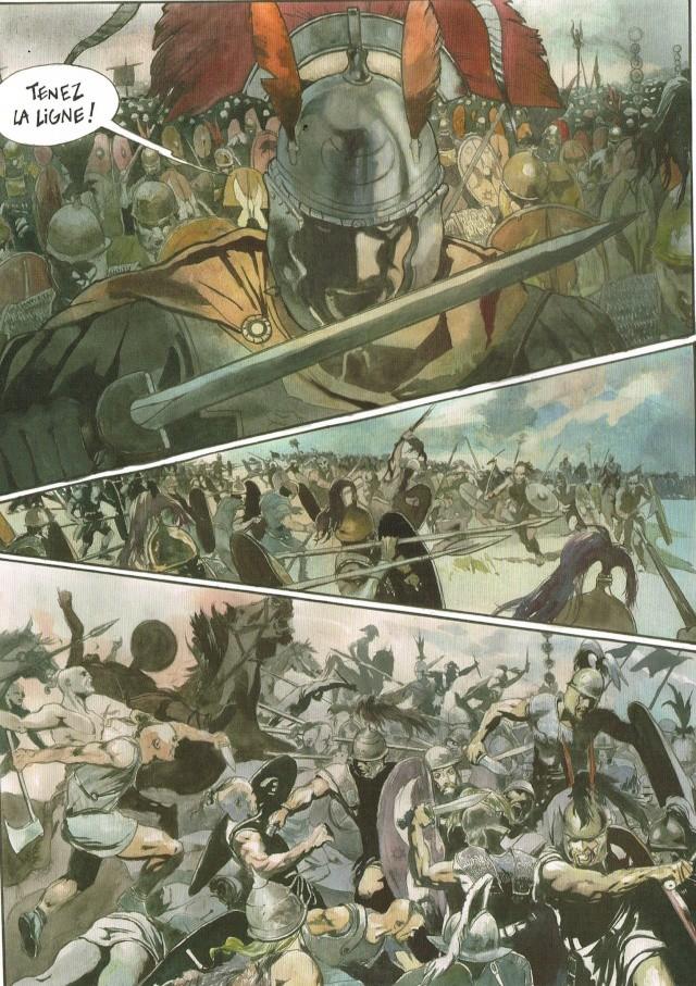 La Guerre des Gaules en BD Gd110