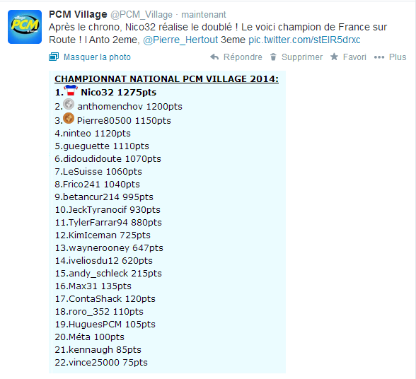 PCM Village sur Twitter Captu130