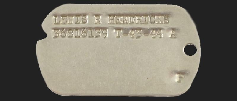 Lewis R Hendricks - 464th bomb group - POW Sans_t12