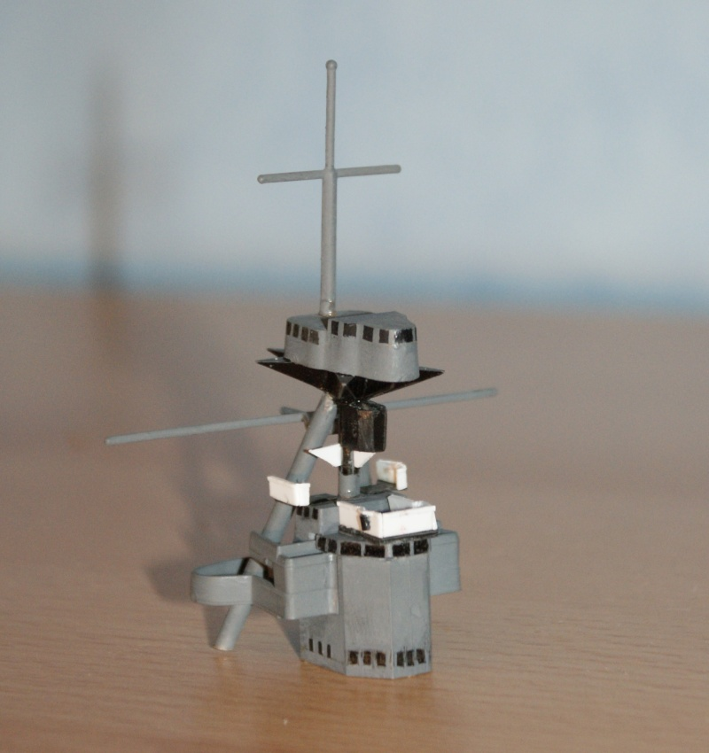 HMS Hood Heller 1/400ème par Ybou76 Datail10