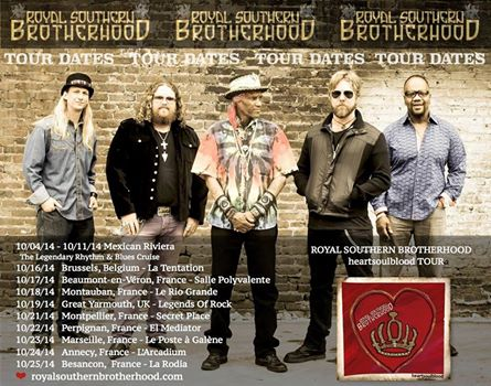 Début de la tournée ROYAL SOUTHERN BROTHERHOOD  10527610