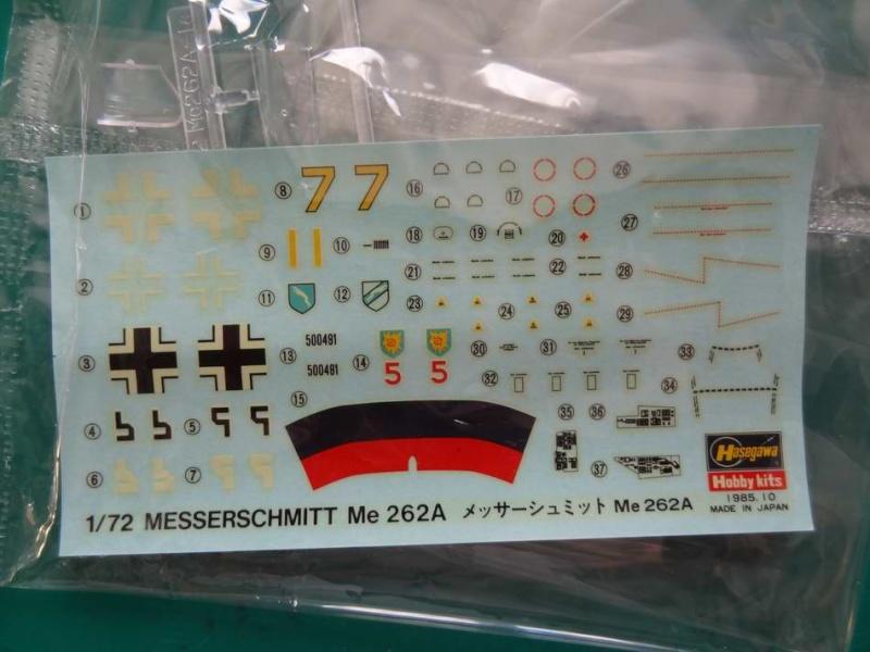 Me 262A hasegawa 1/72 000_me17