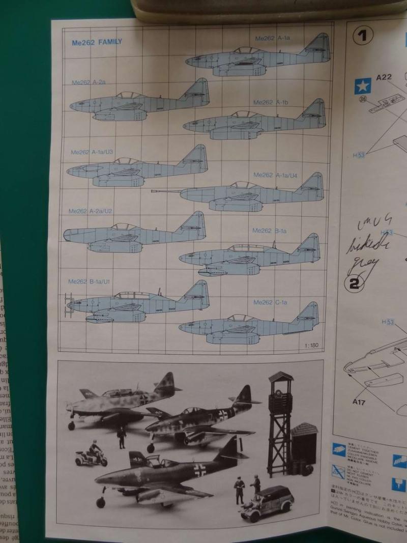 Me 262A hasegawa 1/72 000_me23