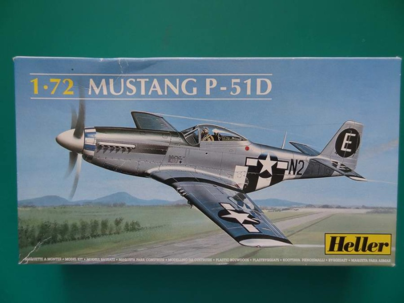 Heller P-51D mustang 1/72 - Page 2 001_p510