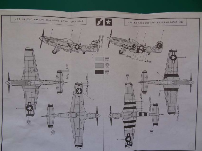 Heller P-51D mustang 1/72 - Page 2 001_p514