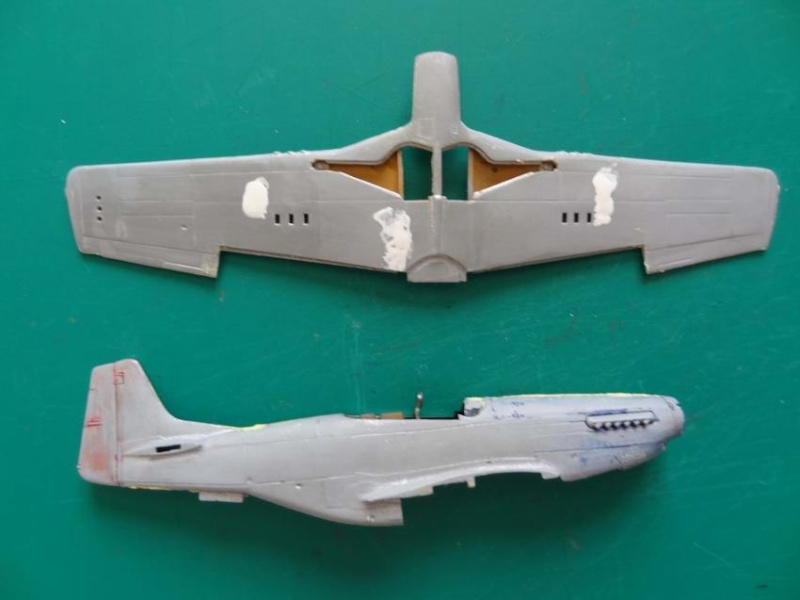 P-51D mustang airfix 1/72_ 2ème moule 002_mu12