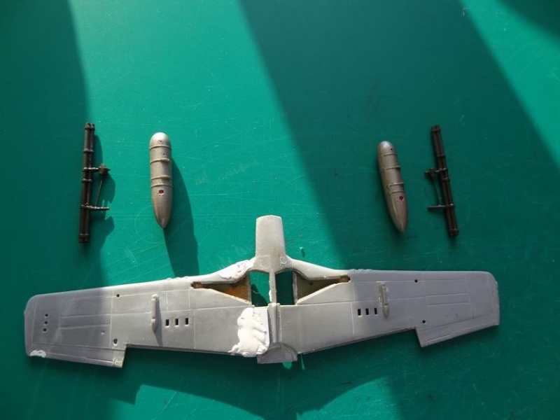 P-51D mustang airfix 1/72_ 2ème moule 004_mu11