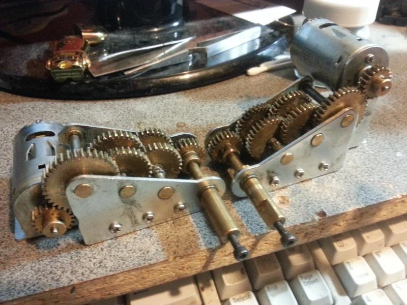Mato 2.0 Brass Gears (Shorts) 20140611