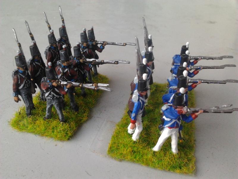 Conversion infanterie Néerlandaise en Anglaise (plus deux ans et demi d'expérience 2014-012