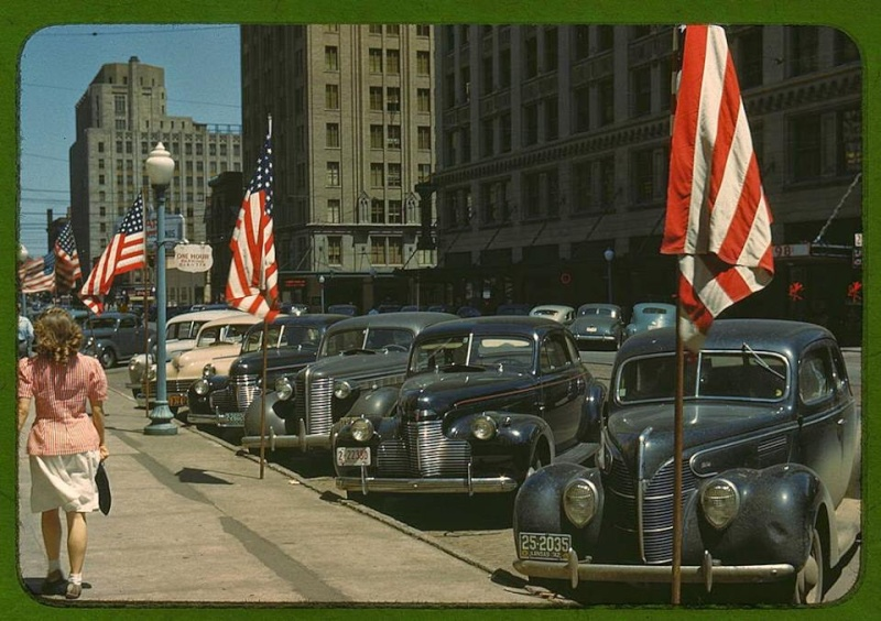 Rues fifties et sixties avec autos - 1950's & 1960's streets with cars - Page 2 10689610
