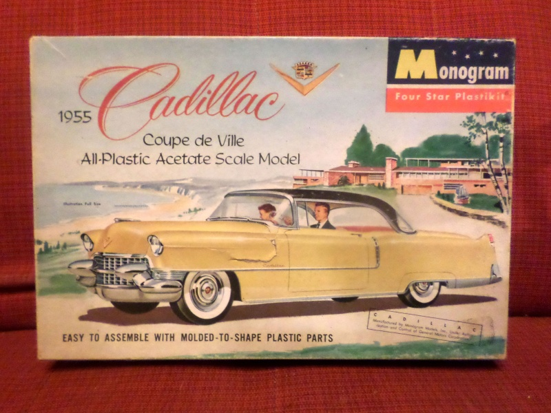 Cadillac 1955 Coupe De ville - Monogram - 1/20 scale Sam_1512