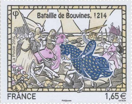 2014 - L'anniversaire oublié par la France : les 800 ans de la bataille de Bouvines.  Bouvin10
