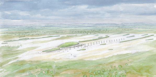 INRAP : une nécropole du néolithique à Fleury-sur-Orne (14) Fleury10
