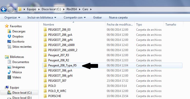 Breve TUTORIAL para guardar el SKIN que mandará la Organización a cada piloto. 3_208r10