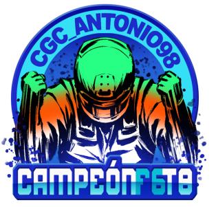 CGC_Antonio98, campeón de F6 de la Temporada 8
