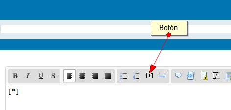 ¿Se puede agregar el BBCode [*] usando estos codigos? Firesh10