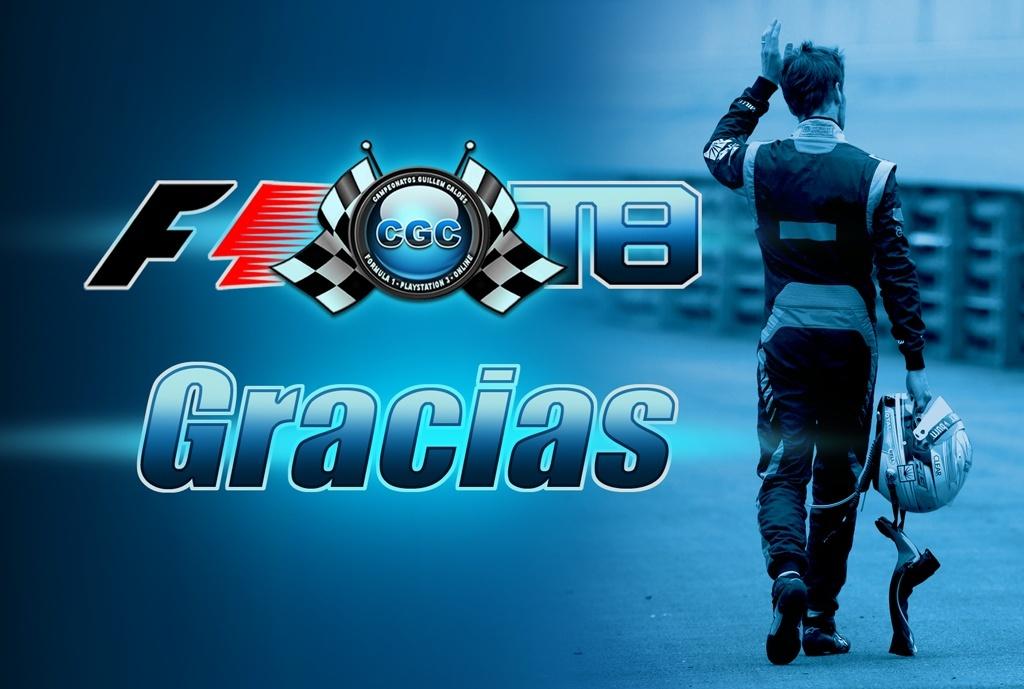 La Organización de Fórmula 1 lanza un mensaje de agradecimiento Gracia10