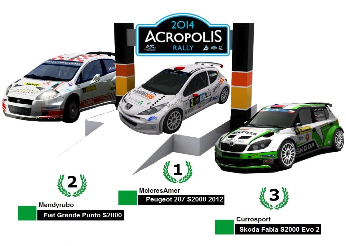 Rally Acrópolis    Gravel  N4_2000      13 y 16 de agosto 2014  - Página 2 Podium10