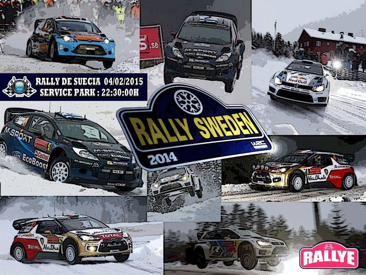 Tramos Rally Suécia Rally_36