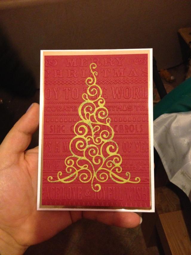 Tinas Christmas Card Tina210