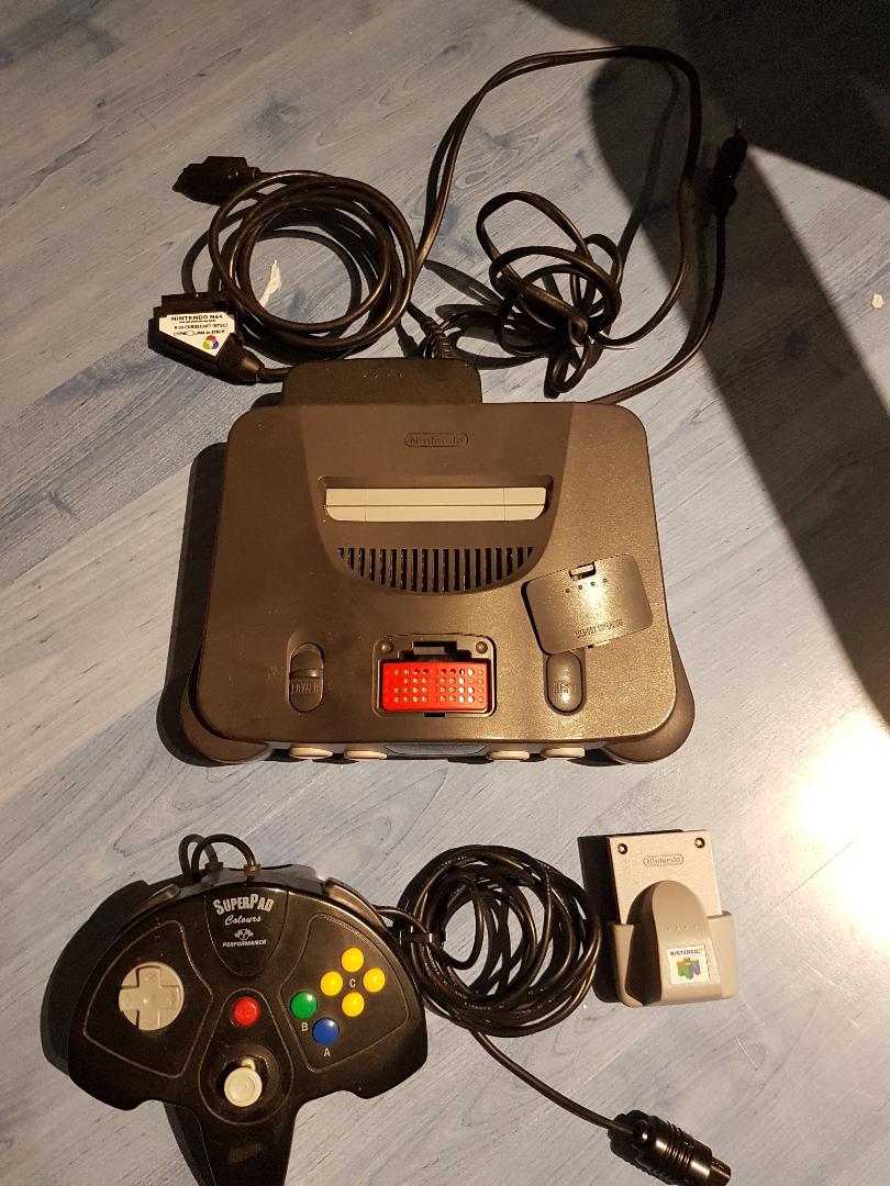 [vds] console n64 ntsc moddée N64210