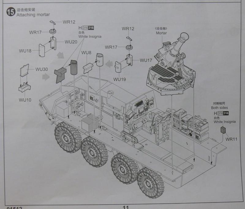 STRYKER M1129 MORTAR CARRIER VEHICLE de TRUMPETER au 1/35 - Page 2 Phot1200