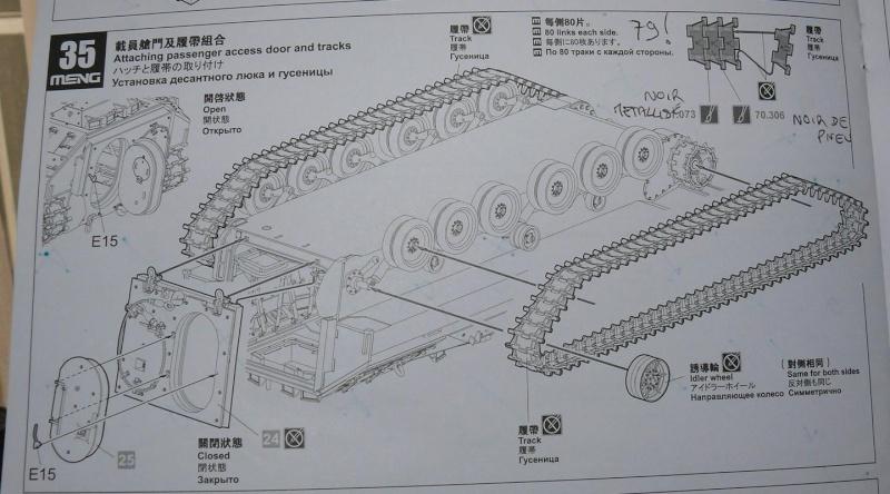 M2A3 BRADLEY With BUSK III de MENG au 1/35  - Page 3 Photo461
