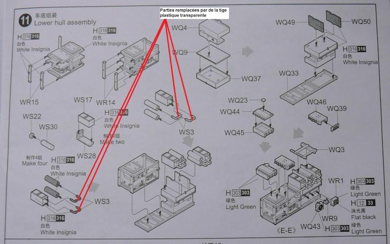 STRYKER M1129 MORTAR CARRIER VEHICLE de TRUMPETER au 1/35 - Page 2 Piyces10