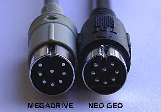 Concept : projet de câble video RGB SCART AES/MVS fait maison Din8rh10