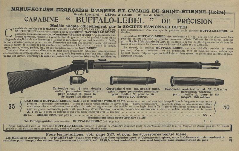 "Carabine ""LEBEL Scolaire"" - Page 2 Buffal10"