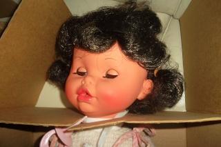 """BAMBOLA FURGA """"POLLICINA"""" COD 2200 VINTAGE ANNI '60/'70 .NUOVA IN BOX. 00813"""