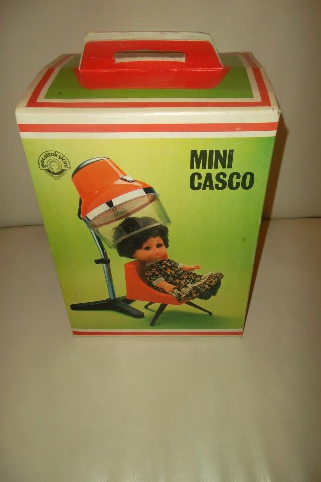 MINI CASCO ASCIUGA CAPELLI CON POLTRONA,BIELLI GIOCATTOLI,ARONA.MINT. 02610