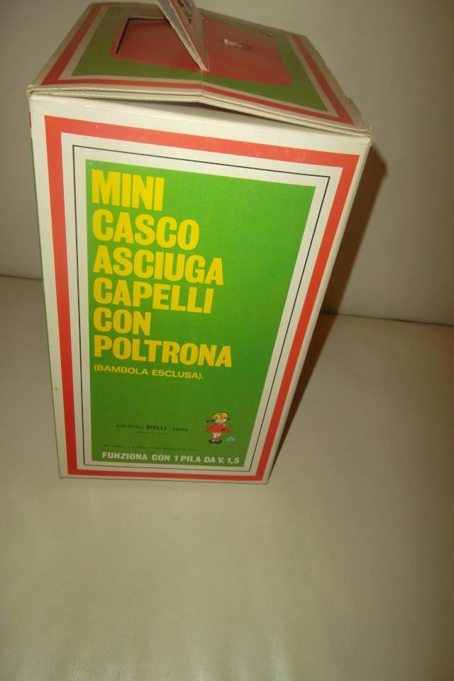 MINI CASCO ASCIUGA CAPELLI CON POLTRONA,BIELLI GIOCATTOLI,ARONA.MINT. 02710