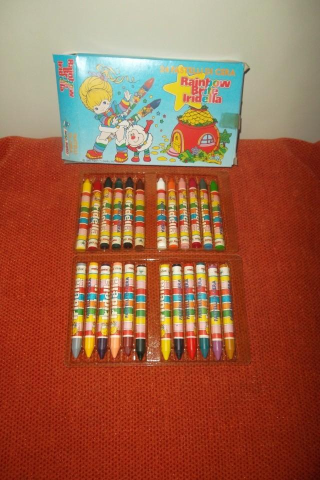 Cerco Iridiella Rainbow Brite , Poochie, Barbapapà e Creamy 03510