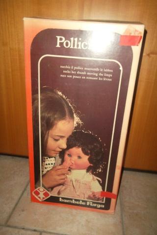 """BAMBOLA FURGA """"POLLICINA"""" COD 2200 VINTAGE ANNI '60/'70 .NUOVA IN BOX. Pollic10"""