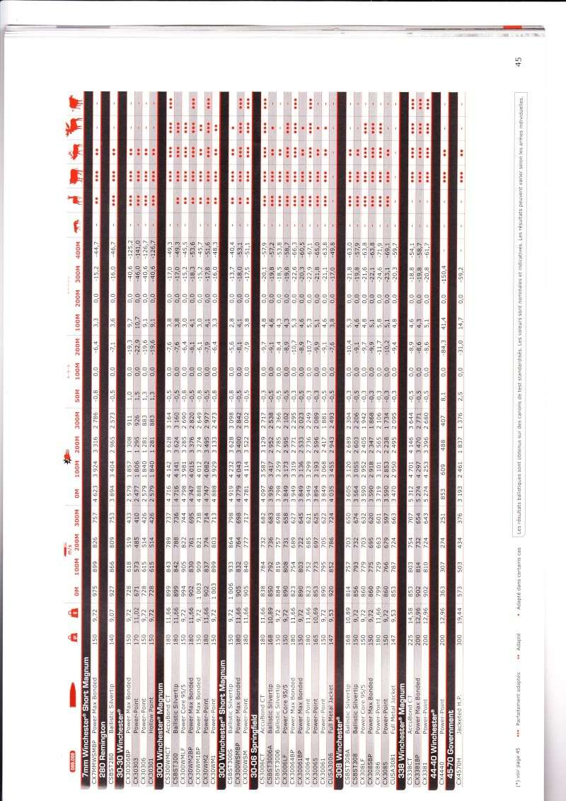 tableaux balistique winchester,balles fusil  Img_0014