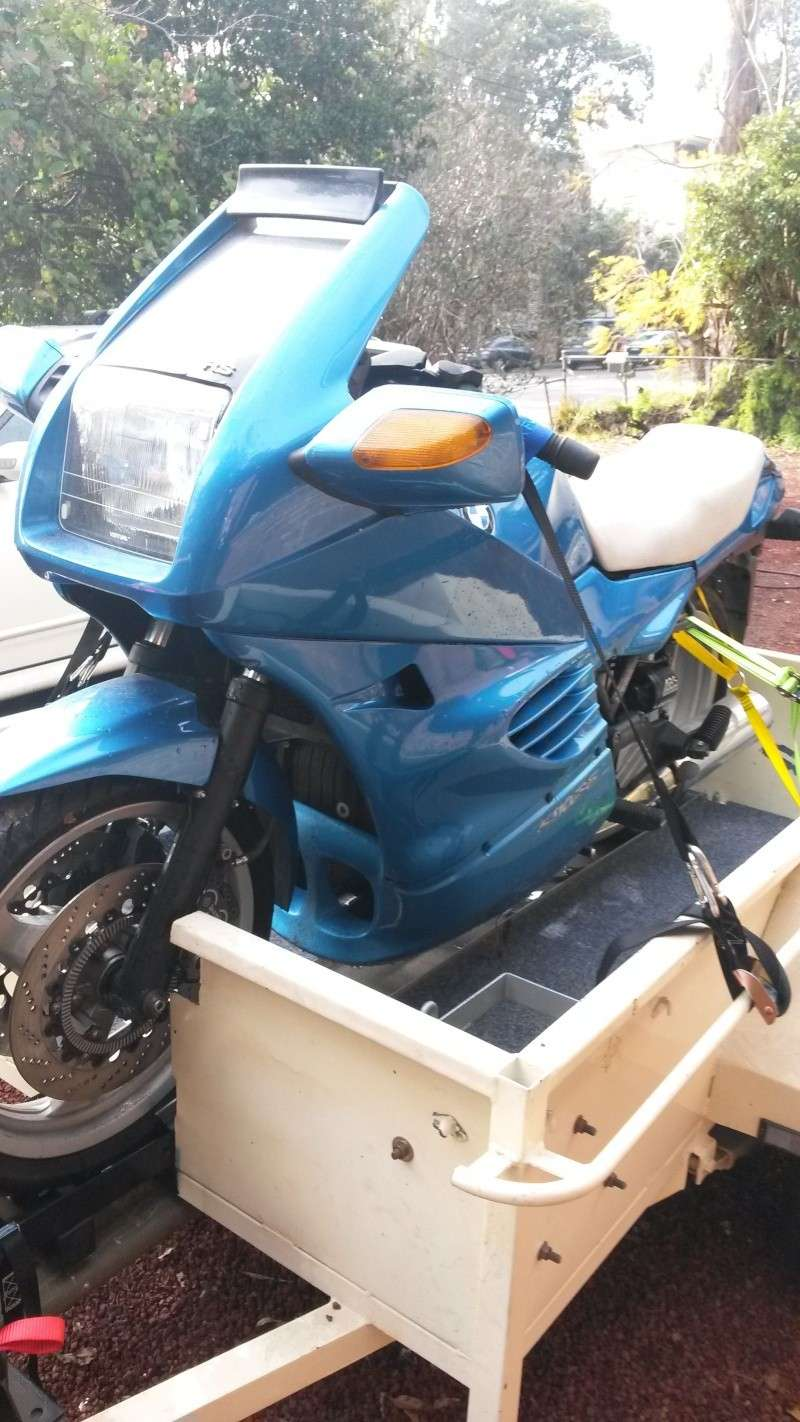 Another K100 Joins the Shed 20140811