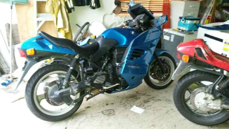 '96 K1100RS in Sydney looking for temporary home 20140927
