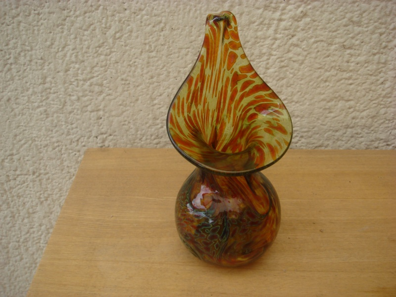 Alum Bay Jack in Trumpet Vase...any idea of age...9 inches high Copied23