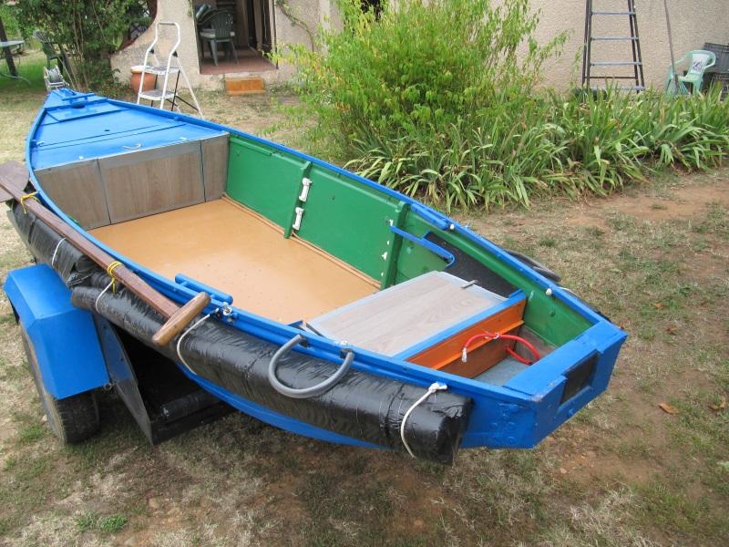 Nouvelle rénovation ..ex barque pliante Profil10