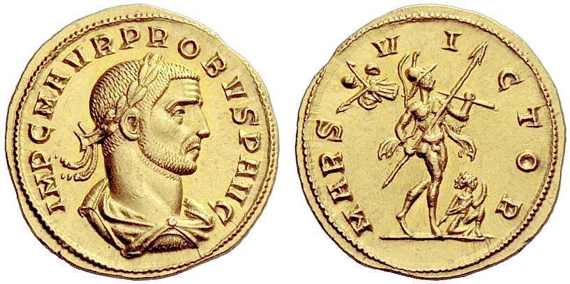 Mon projet : réaliser des reproductions de monnaies antiques - Page 2 Probus10