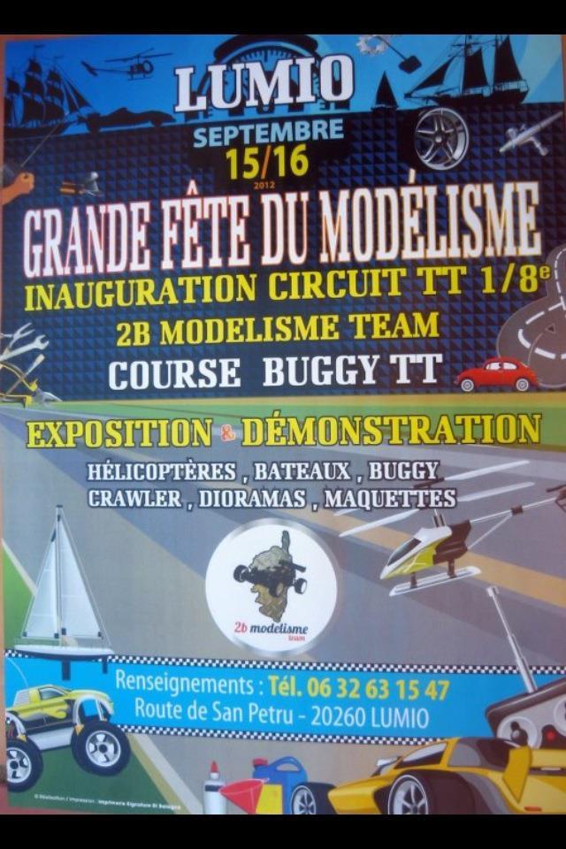invitation à l'inauguration de la piste du 2bmodélismeTeam Modeli10