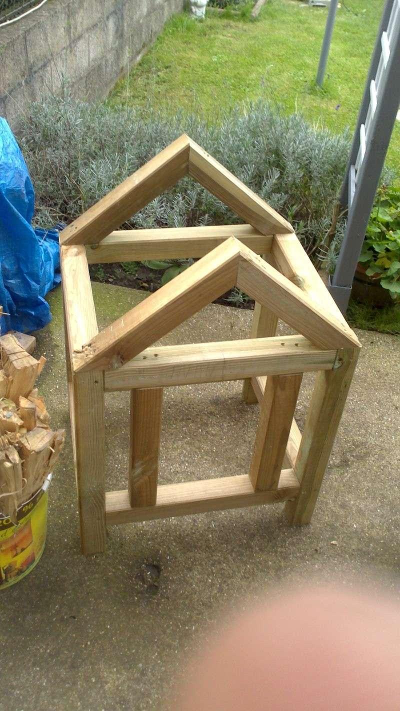 Fabrication cabane pour chat  Dsc_0532