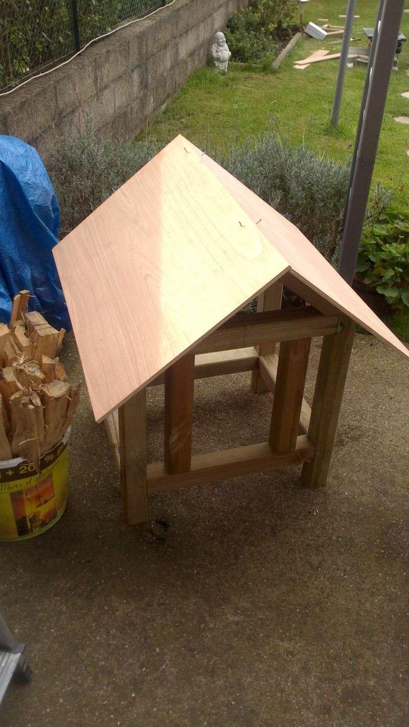 Fabrication cabane pour chat  Dsc_0534