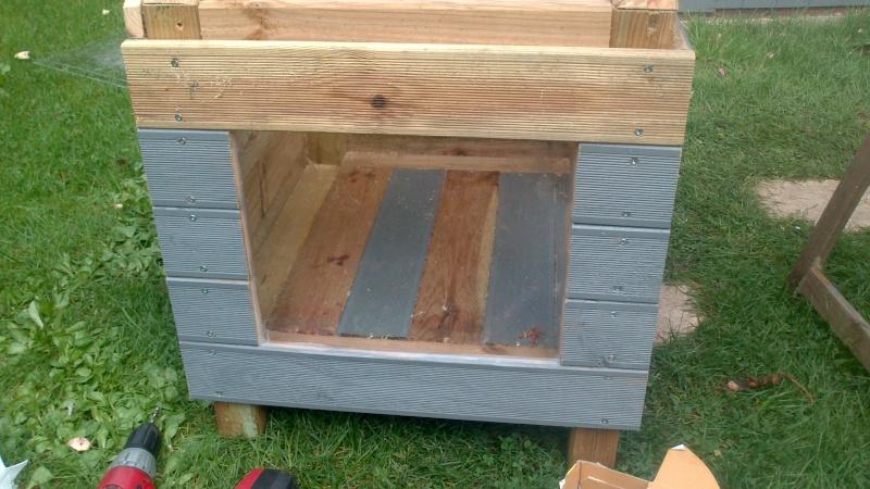 Fabrication cabane pour chat  Dsc_0621