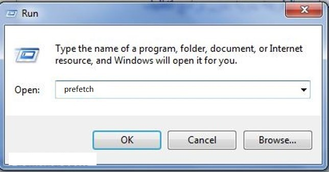 طريقة تنظيف الكمبيوتر وتسريعه عن طريق الأمر تشغيل -  Run في ويندوز 7 بالصور Prefet11