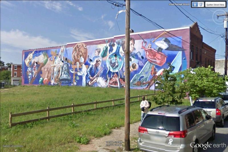 STREETVIEW : les fresques murales de Philadelphie  - Page 12 Artsol11