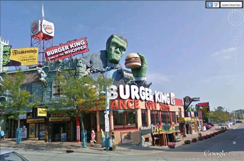 STREET VIEW : les façades de magasins (Monde) - Page 3 Burger10